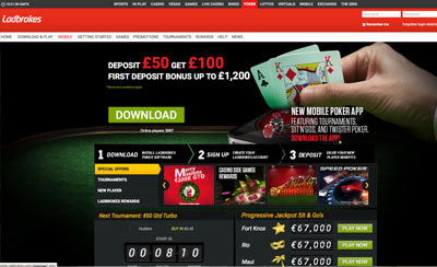 Review ladbrokes poker